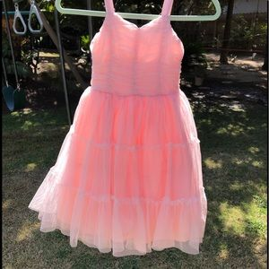 Delicious pink party dress! Size 7
